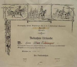Baviera-6-Chevauleger-Regiment-Kres-Munich-Ulan-Ussaro-Cavalleria-Max-Felbinger