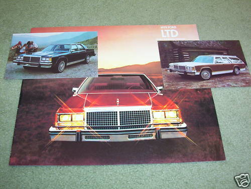 Car Manuals & Literature Vehicle Parts & Accessories 1979 FORD LTD ...
