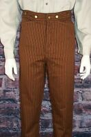 Frontier Classics Tan Stripe Outlaw Trousers Cowboy
