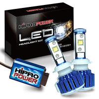 60w Cree Mk-r 6000k Led Fog Light Bulbs Lincoln Mkz 2007 2008 2009 2010-2012