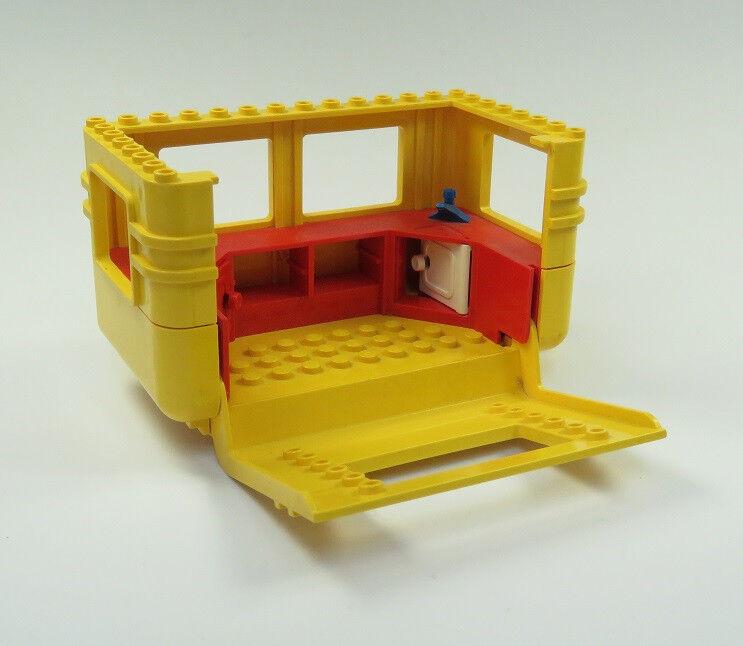 Lego Caravane Caravane Caravane Remorque Jaune Rouge Pièce de Rechange be8ee1