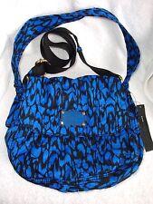 Marc by Marc Jacobs Standard Supply Lil Ukita Blue Black Crossbody Shoulder Bag