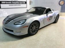 1/24 Franklin Mint Silver 2009 Corvette Z06 ZO6 Competition Sport 324 of 427