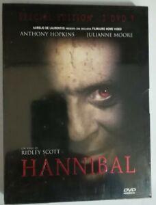 HANNIBAL-con-A-HOPKINS-J-MOORE-special-edition-2DVD