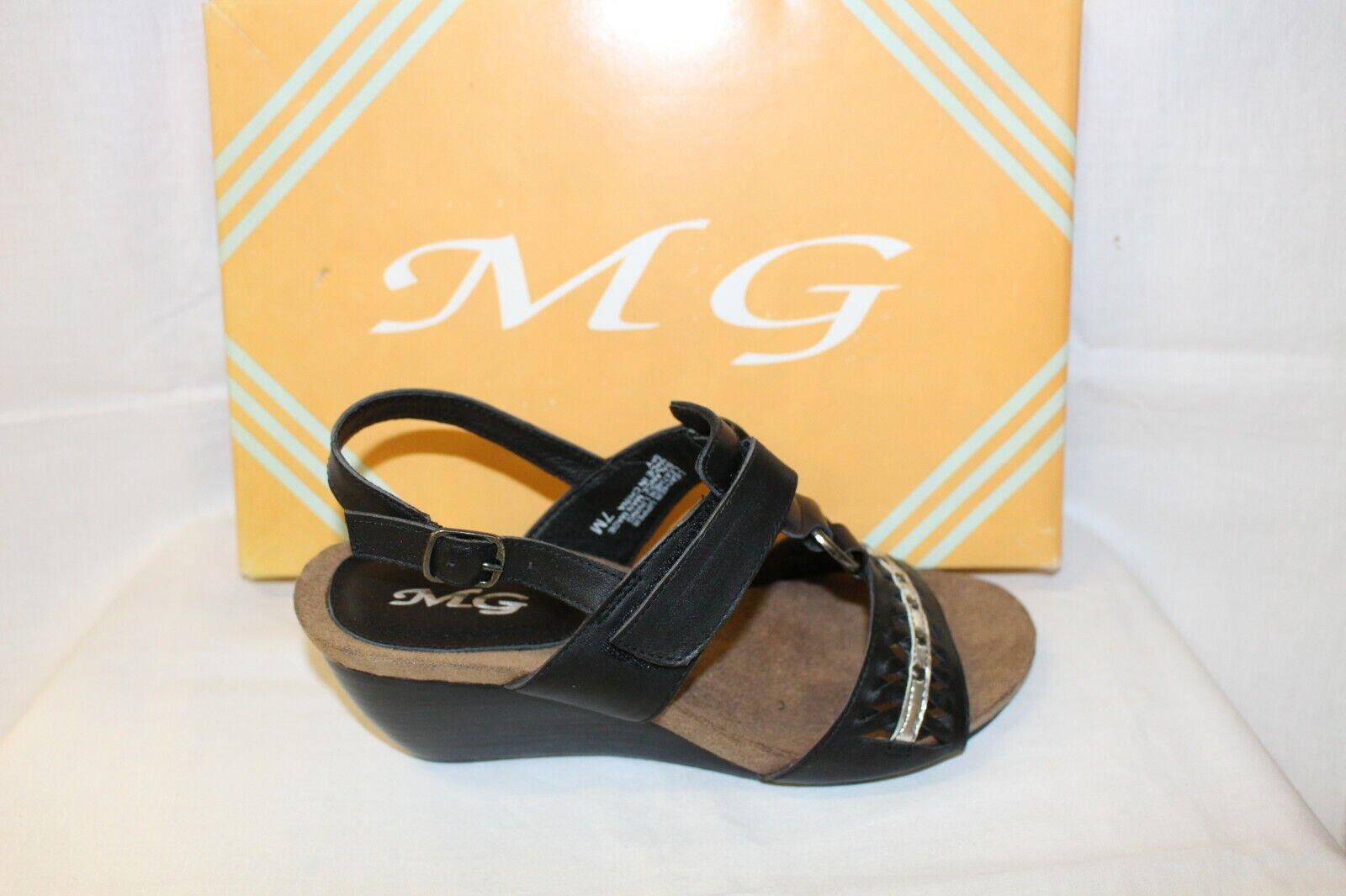 LADIES scarpe FOOTWEAR -MG Spy nero sandal