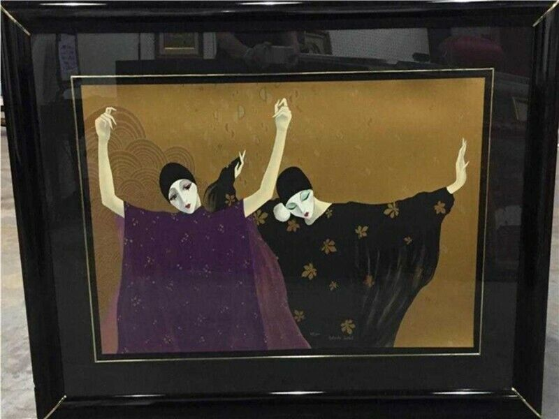 Italian Art Deco Painting of Clowns (Pierrots) by Robert Tortoli -Vintage |  City Centre | Gumtree Classifieds South Africa | 482024038
