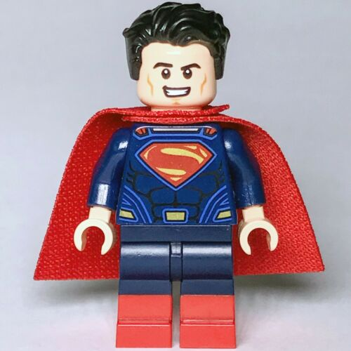 DC Super Heroes LEGO® Superman Dawn of Justice Red Boots Minifig 76046 Genuine