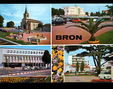 BRON (69) PARC JEUX pour ENFANTS animé , oblitération postale AEROPORT en 1973