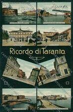 Taranto Città Ricordo di cartolina QQ5048