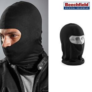 Microfibra-abierto-Balaclava-BEECHFIELD-Caliente-Negro-Mascara-De-Cara-Cuello-Moto