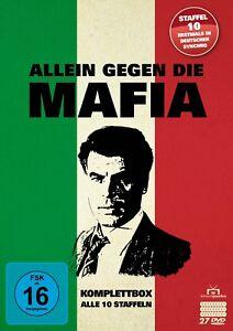 Allein gegen die Mafia - Komplettbox / Gesamtedition - Alle 10 Staffeln [27 DVD]