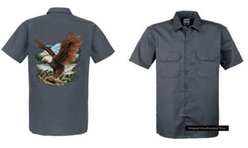 motif motif shirt aigle nature gris avec T animal et sdCxQthr
