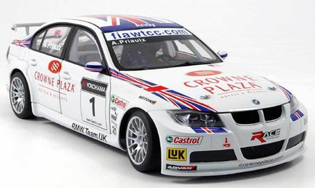 BMW 320 SI TEAM UK WTCC PRIAULX 2007 bilkonst 80746 1  18 SERIES 3 tävlings E46