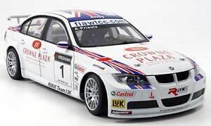 BMW 320 Si Team Uk # 1 Wtcc Priaulx 2007 Autoart 80746 1/18 Série 3 Racing E46