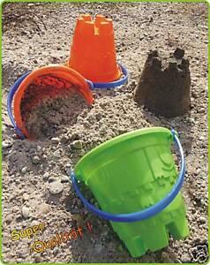 Sandkastenspielzeug-Burg-Eimer-Kinder-Sandeimer-034-TOP-QUALITAT-034-10-12