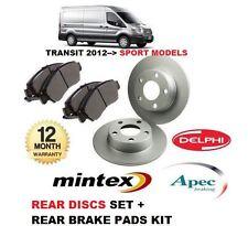 für Ford Transit Sport 2.2 TDCi 2012- > Bremsscheiben SET HINTEN+Bremsbelagsatz
