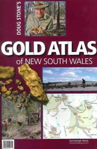 GOLD ATLAS OF NEW SOUTH WALES - DOUG STONE - PROSPECTING - HIGH DETAIL - MAP 9780987550712