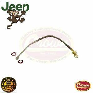 Brake-hose-front-left-Jeep-Wrangler-YJ-90-95-52006473