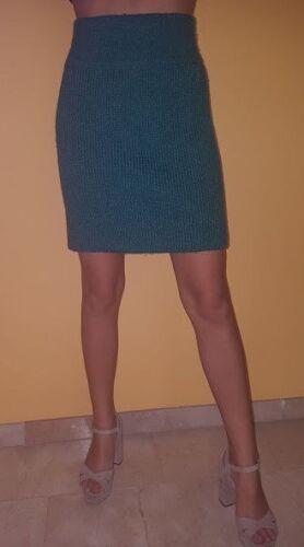 ❤️AZZEDINE ALAIA AZZEDINE ALAIA thick turquoise w