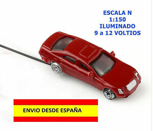 TRENES-2-COCHES-ILUMINADOS-EN-ESCALA-N-MUY-BIEN-ACABADOS-2-PIEZAS-CABLEADOS