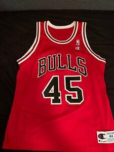 Details about NWOT Champion Michael Jordan #45 Men's Red Jersey size 44