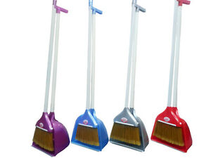 Long Handle Handled Jumbo Pyramid Garden Dustpan Dust Pan And Brush