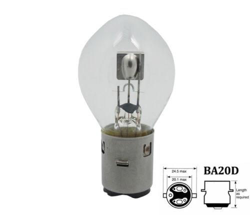 3 Stück 12V 35//35W BA20d S2 Bilux Birne Lampe Glühlampe Moped Motorrad Halogen