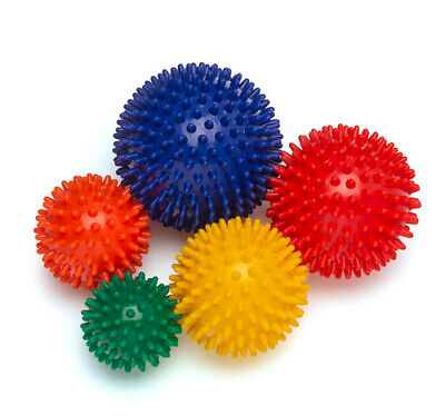 Analytisch 5er Set Igelball Massageball Gymnastikball Triggerball Noppenbälle !neu!
