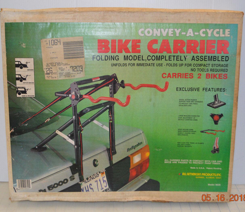 Convey-A cycle 2 porte-vélo voiture Trunk Mount bikes modèle 9620 pliant MADE USA