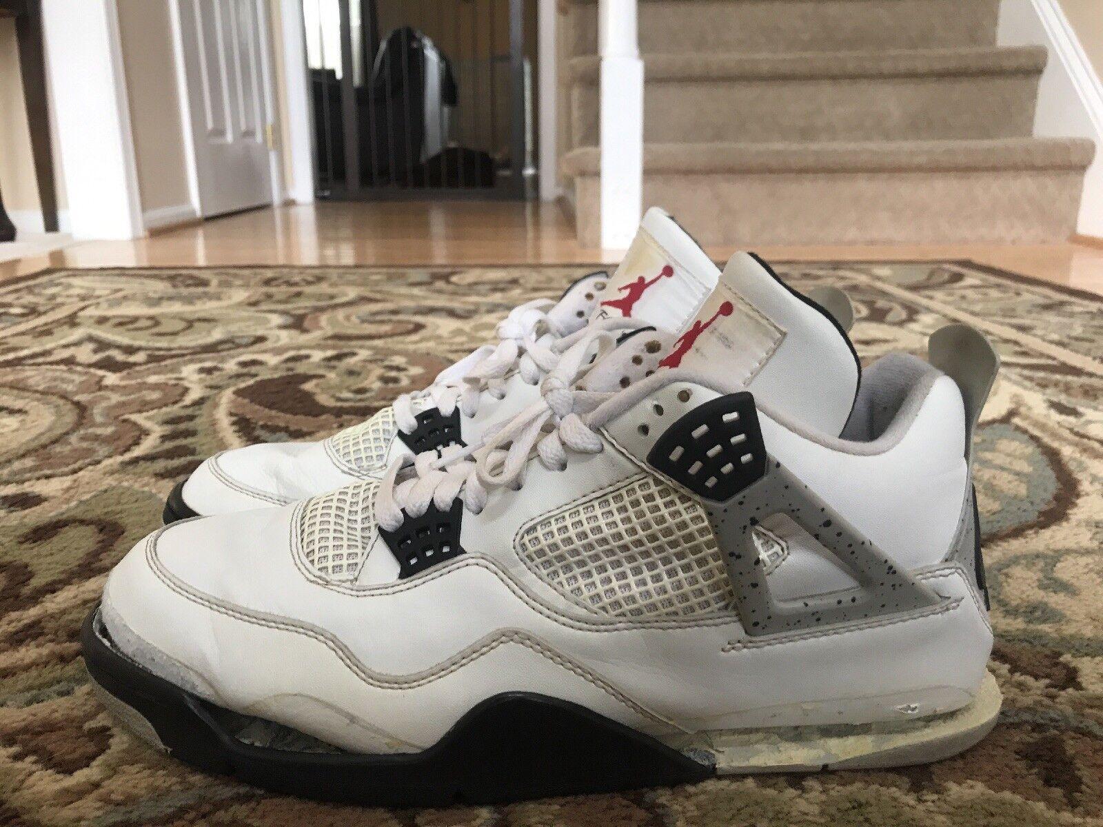 Air Jordan 4 White Cement 1999