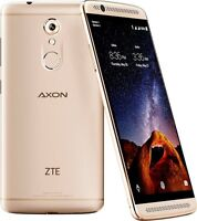 Sealed Zte Axon 7 Mini 4g Lte 32gb Memory Cell Phone Gsm Unlocked Ion Gold
