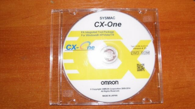 OMRON PLC PROGRAMMING SOFTWARE CX ONE V4 40 WITH KEYCODE ACTIVATION 0$ Shipping