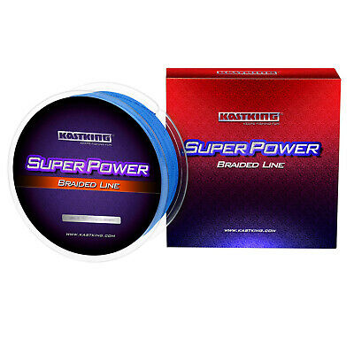 KastKing SuperPower Braided Fishing Line 330 yds- 1094yds SELECT LB TEST