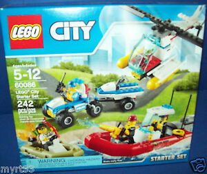 Details about LEGO 60086 City Starter Set lego Retired 242 pieces New in  Factory Sealed Box