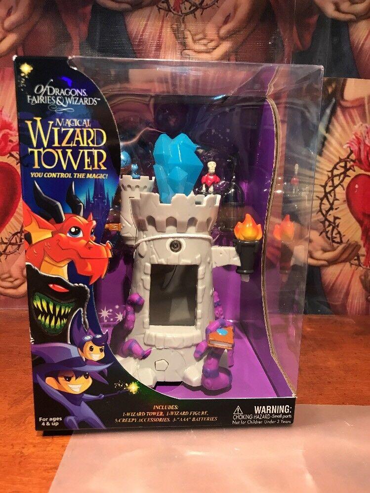 Of Dragons, Fairies y Wizards Conjunto de Juego y Accesorios, gris Tower