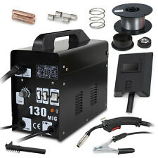 MIG 130 Welder Gas Wire Automatic Feed Welding Machine W