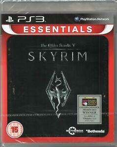 Jeu-de-pour-PS3-Skyrim-les-Scrolls-Ancestral-V-Boite-DVD-Originale