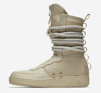 Nike SF AF1 HI Rattan Tan size 14. Special Field. AA1128 200 Air Force One Boots | eBay
