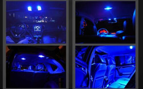2x 31MM LED Interior Map Dome Trunk Side Marker Lights 8000K Blue DE3175 3022