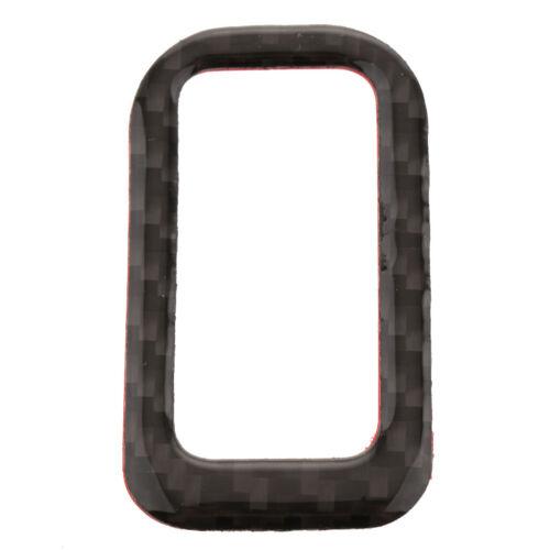 ADESIVI PER AUDI q5 10-17 CARBON-cassetta posteriore-BOTTONE-Deut-quadro