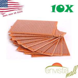 10-Pcs-5x7cm-2x3in-DIY-PCB-Prototyping-Perf-Circuit-Boards-Breadboards-US