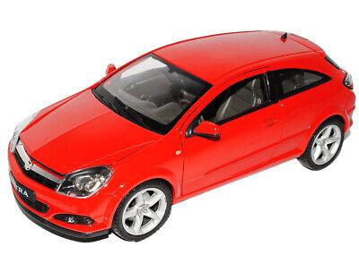 red Welly Modell Auto 1:34 NEU /& OVP BLITZ VERSAND Opel Astra GTC 2005 rot