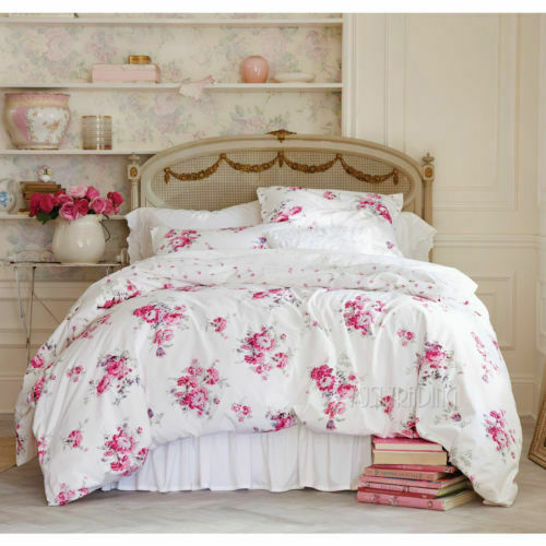 Simply Shabby Chic Sunbleach Floral 3pc Full Queen Comforter Set