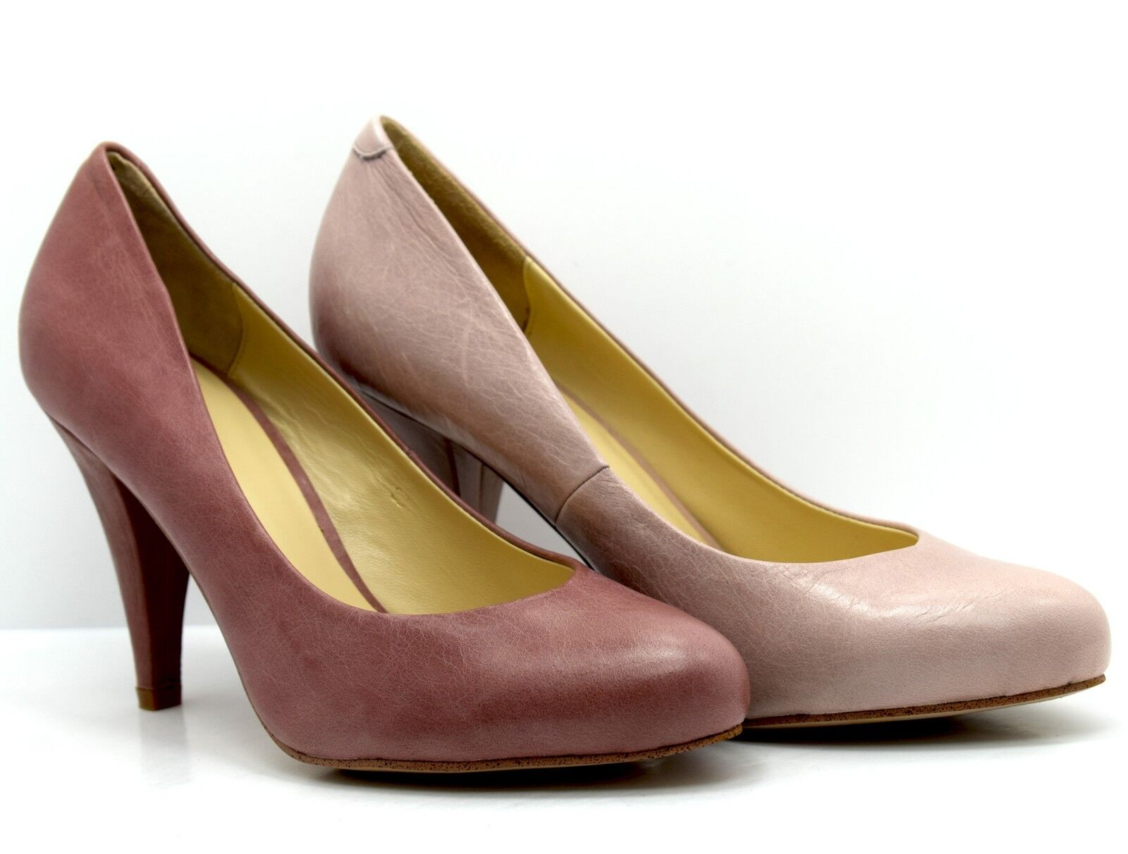Noe Womens High Heel Leather Pumps Court shoes Multiple Sizes and Colours