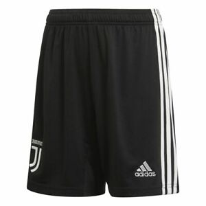 Adidas-Fussball-Juventus-Turin-FC-Kinder-Home-Hose-2019-2020-Heimshorts-schwarz