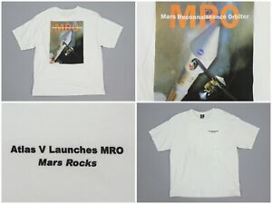 Mars-Reconnaissance-Orbiter-Atlas-V-Launches-MRO-NASA-Cotton-Space-Tee-Shirt-XL