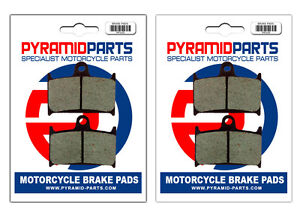 Front Brake Pads (2 Pairs) for Triumph 1200 Trophy 96-03