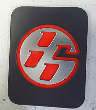 CENTER CONSOLE PLAQUE RED/BLACK FITS 2013 2017 TOYOTA GT86/SCION FR-S FRS #39