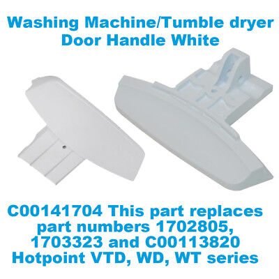 100% Kwaliteit Hotpoint Wd420p Wd420p Wd440p Genuine Washing Machine Door Handle C00141704