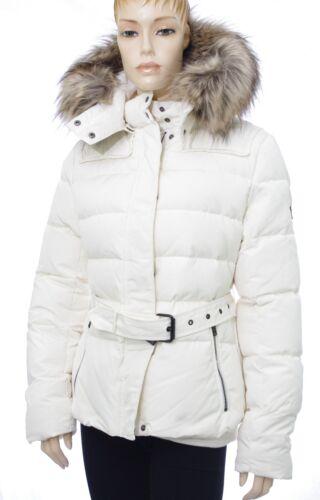 PEPE JEANS veste doudoune duvet femme blanc cassé CLARIS MOUSSE taille XL